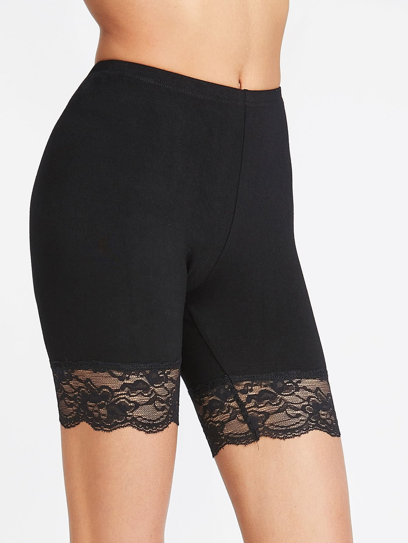 Black lace shorts fashion Fashion Nova is selling some very uncomfortable