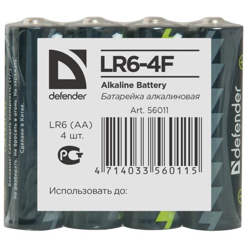 Батарейка Defender алкалиновая