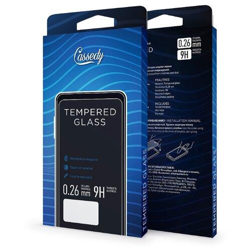 Защитное стекло Cassedy Full Cover#and#Glue для Apple iPhone Xs Max черный