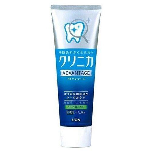 Зубная паста Lion Clinica Advantage Цитрусовые и мята, 130 г