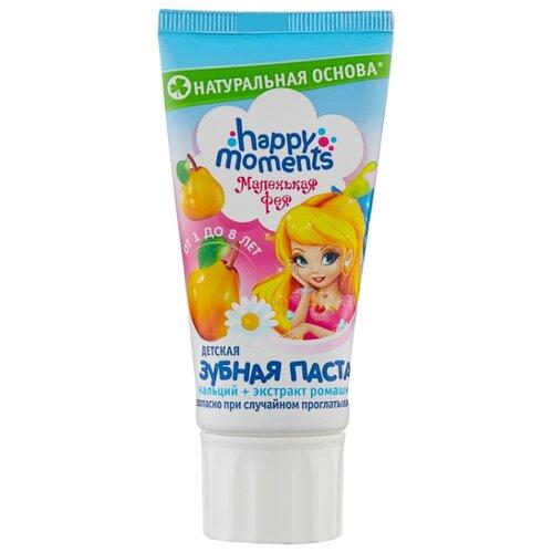 Зубная паста Happy Moments Волшебный фрукт от 1 до 8 лет, 60 мл