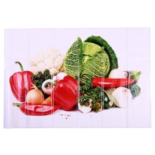 Наклейка на кухонный фартук Great Овощной микс