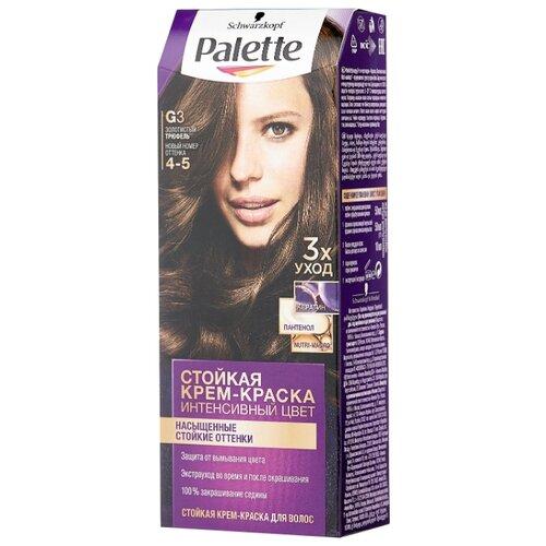 Интенсивный цвет Стойкая крем-краска для волос, G3 4-5 Золотистый трюфель