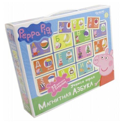 Настольная игра Origami Peppa Pig. Магнитная азбука