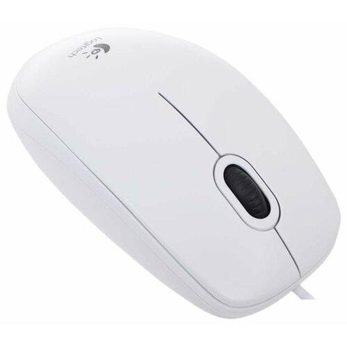 Мышь LOGITECH B100 WHITE USB (910-003360)
