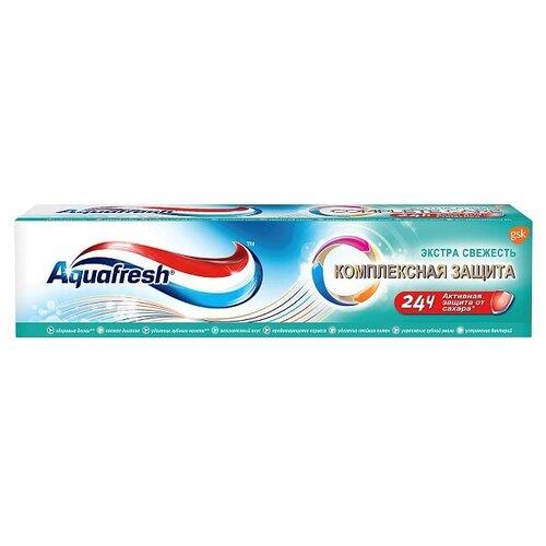 Зубная паста Aquafresh Комплексная защита Экстра Свежесть, 100 мл