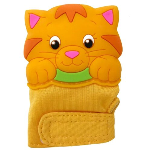 Прорезыватель Silli Chews Kitty желтый