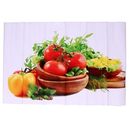 Наклейка на кухонный фартук Great Овощная тарелка