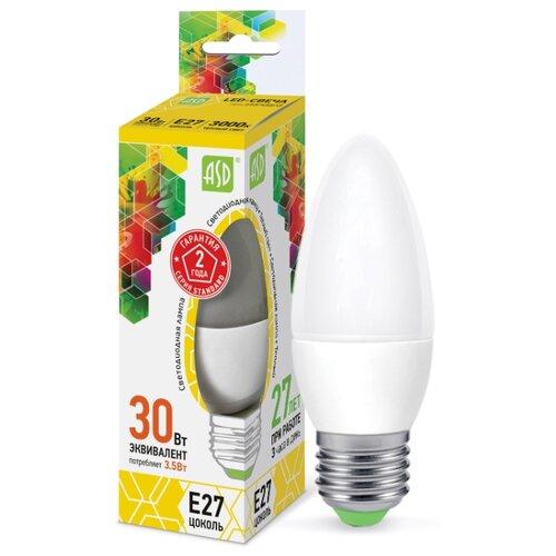 Лампа светодиодная ASD LED-A60-PREMIUM-6-720-3000