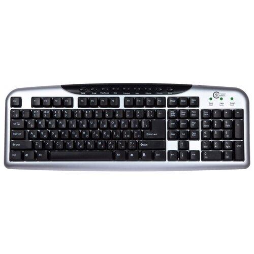 Клавиатура CBR KB 300M Silver USB