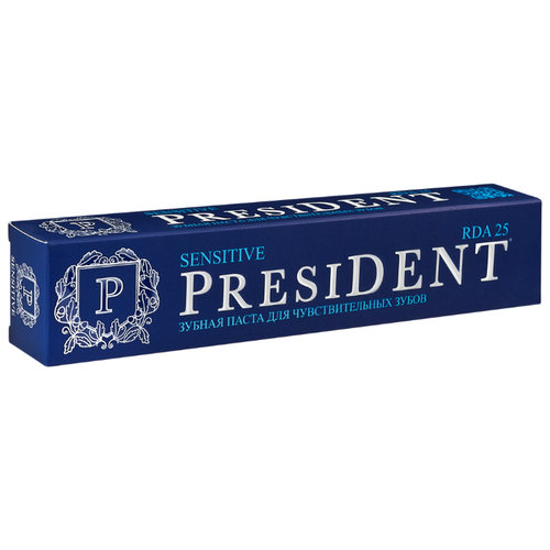Зубная паста PresiDENT Sensitive, 75 мл