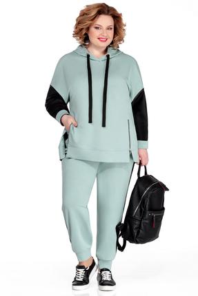 Спортивный костюм Pretty 1047 светло-бирюзовый