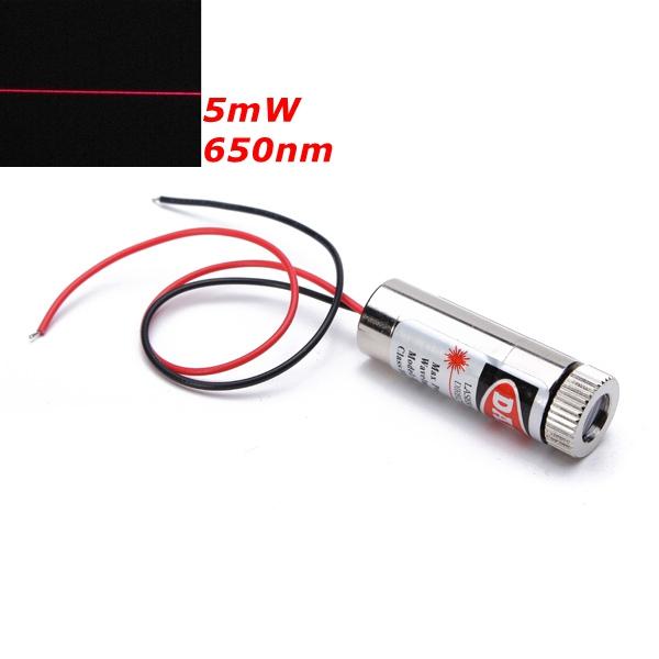 Красный лазер с системой фокуса на основе диода