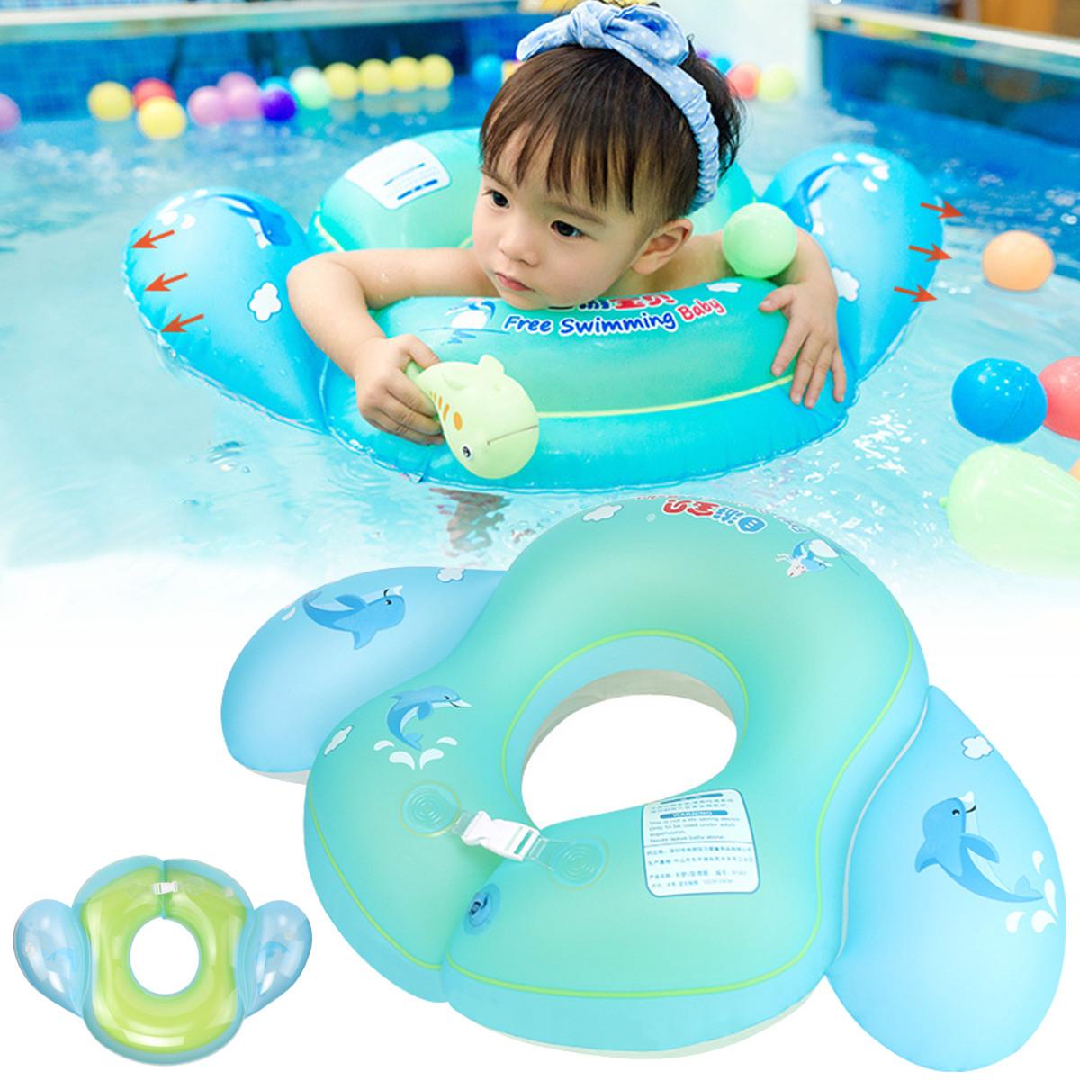ОткрытыйДетскоеПлаваниеКольцоПлаваниеДети Надувные Младенцы Плавать Тренер Бассейн Water Fun Toy
