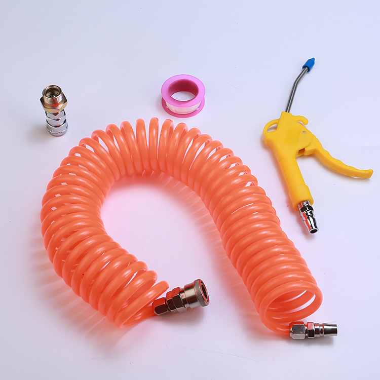 Воздуходувка Пылеуловитель Пылеуловитель Пневматический Инструмент Красная пластиковая ручка Угловая согнутая насадка