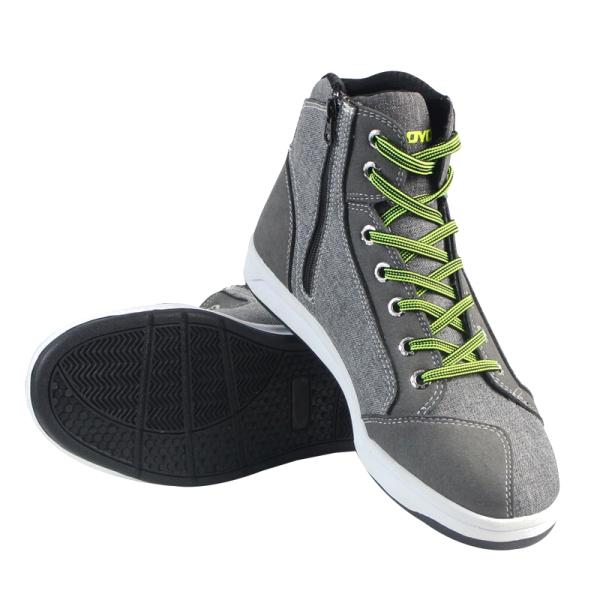 Мужчины короткие Ботинки случайные спортивные мотоцикл езда обувь дышащий серый для Scoyco