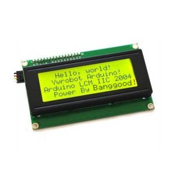 Символ LCD Дисплей Модуль Желтый Зеленый Geekcreit для Arduino - продукты, которые работают с официальными платами Arduino