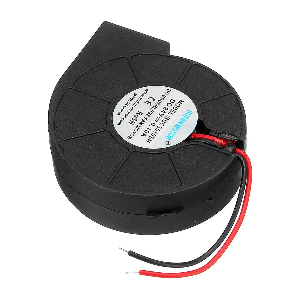 В Охлаждение Турбо Вентилятор Бесколлекторный Экструдер Вентилятор Кулера DC Черный Пластиковый Вентилятор Для Reprap 3D Принтер