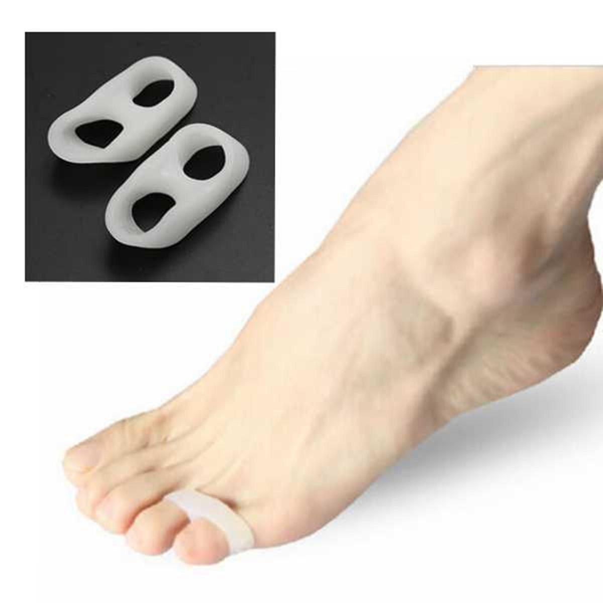 Шт мягкий силиконовый гель toe сепараторы выпрямитель бурсит большого пальца стопы протектор
