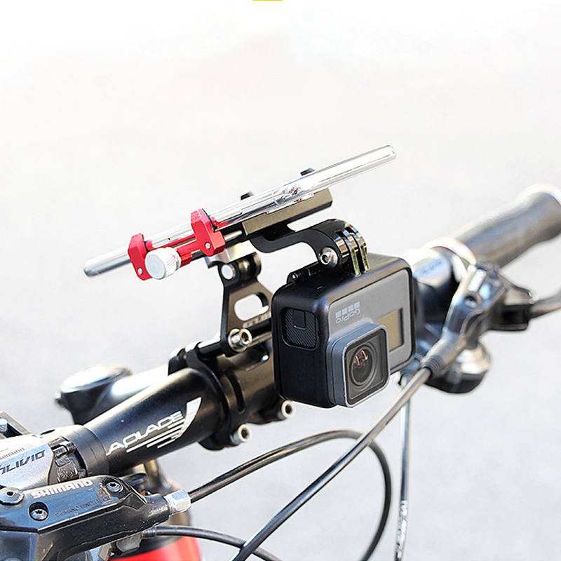 Для OSMO GOPRO GUB g-99 Action камера Руль Горный Дорожный Велосипед многофункциональный Алюминиевый Сплав Мобильного Телефона Навигация Кронштейн