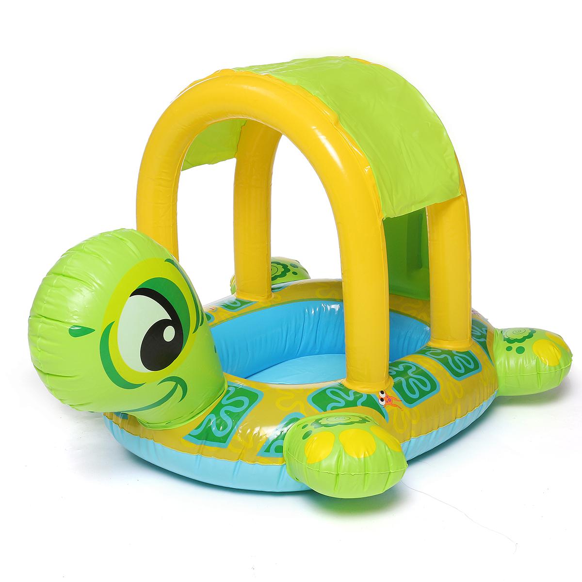 См Детское плавательное кольцо Float Надувное плавание Лодка Turtle Swim Seat