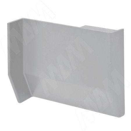 801 Заглушка для мебельного навеса, пластик, серая, левая (K013.C00L.901)