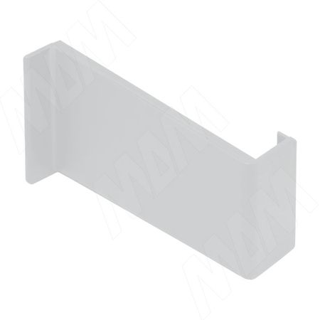 Заглушка для мебельного навеса, пластик, белая, правая (K015.C00R.911/RU)