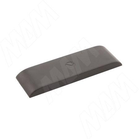 LIBRA CC2 Заглушка для навесов D12, пластик, графит (6 34610 10 EE)