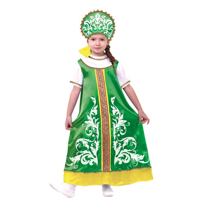 Русский  костюм для девочки\