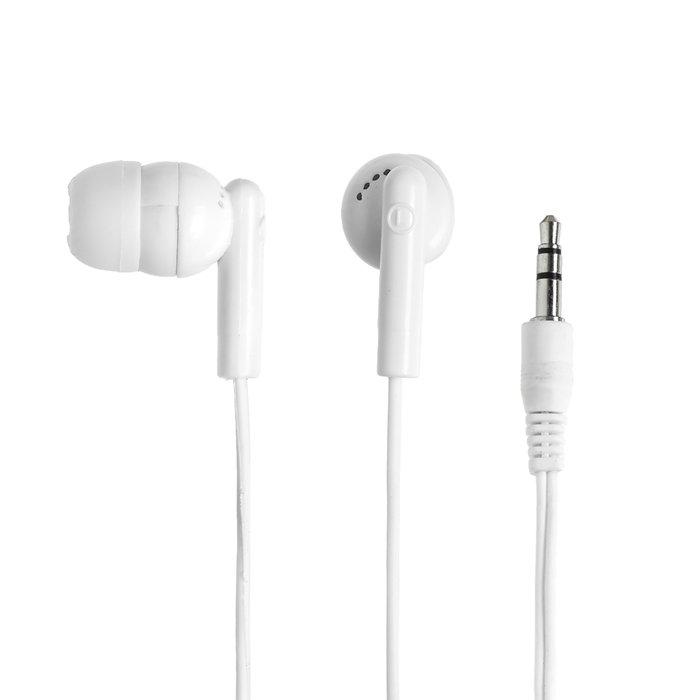 Наушники Dialog EP-03, вакуумные, 3.5 мм, кабель 1 м, белые