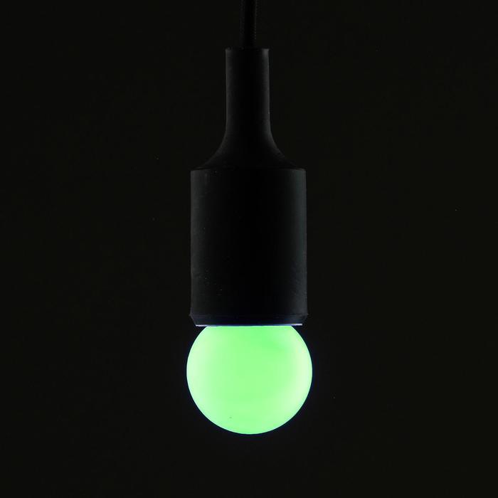 Лампа светодиодная декоративная Шарик d=40 мм, 6 led SMD, МУЛЬТИ, фасовка 100 штук