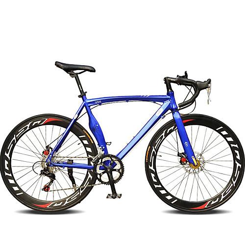 Дорожные велосипеды Велоспорт 14 Скорость 26 дюймы / 700CC SHIMANO TX30 Двойной дисковый тормоз Обычные Моноблок Обычные Алюминиевый сплав / Сталь / #