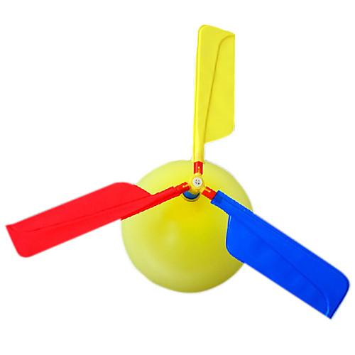 Летающий гаджет Воздушные шары Вертолет Вертолет Для вечеринок Надувной Оригинальные пластик Детские Взрослые Игрушки Подарок 1 pcs