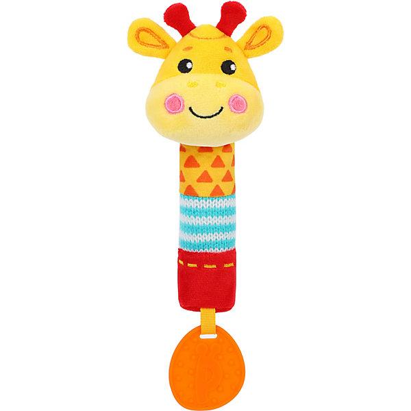 Игрушка-пищалка Жирафики \