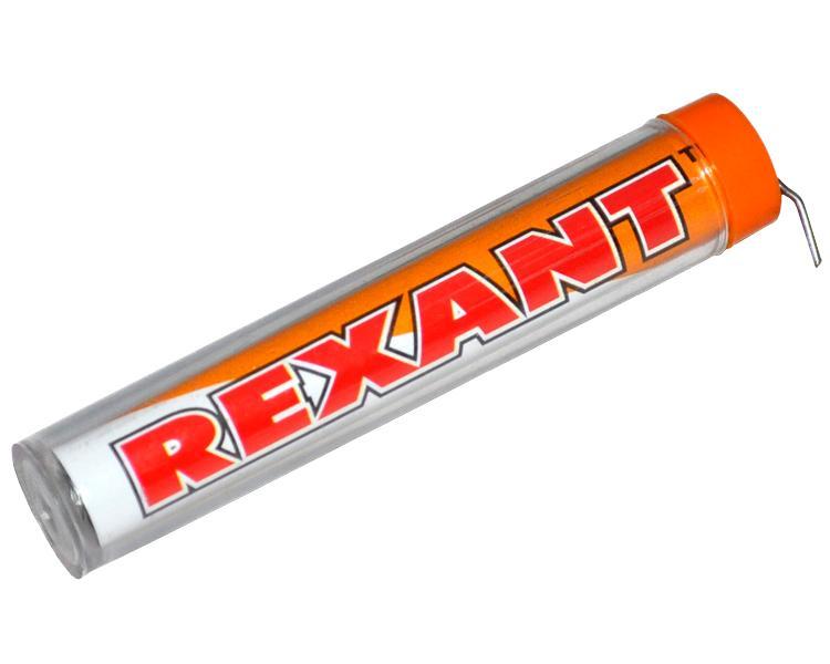 Припой с канифолью Rexant 10g DIA 1.0mm 09-3101