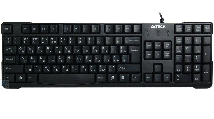 Клавиатура A4TECH KR-750