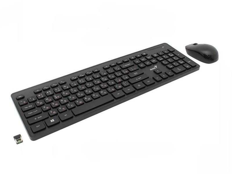 Комплект клавиатура мышь GENIUS SLIMSTAR 8006