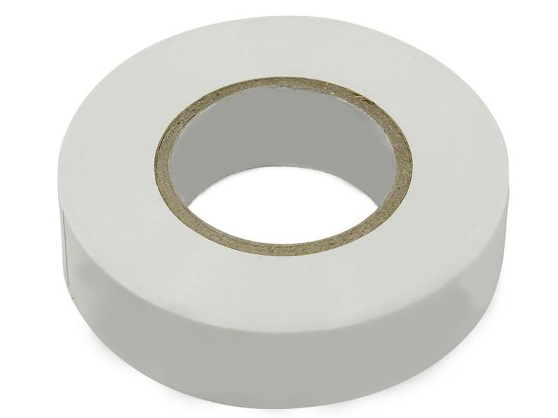 Изолента SmartBuy 0.13x15mm 20m White SBE-IT-15-20-w