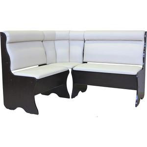 Кухонный угловой диван Гамма Уют 136х136 экокожа