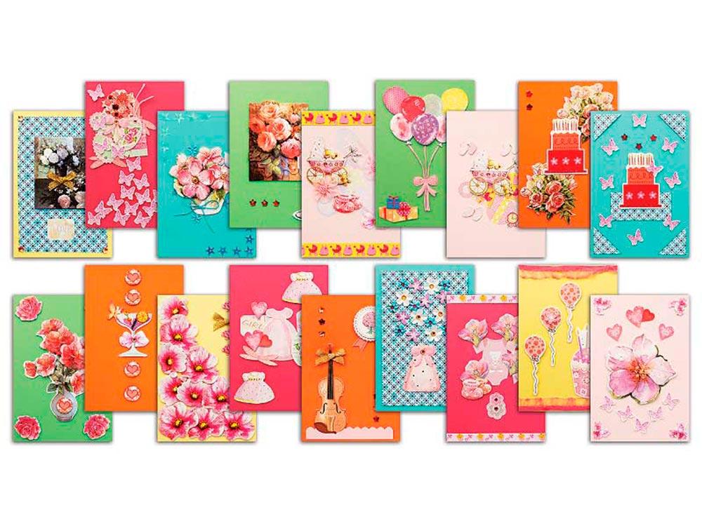 Набор для создание открытки, открытка