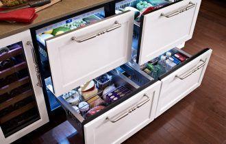 Горизонтальный холодильник