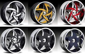 2 вида колесных дисков