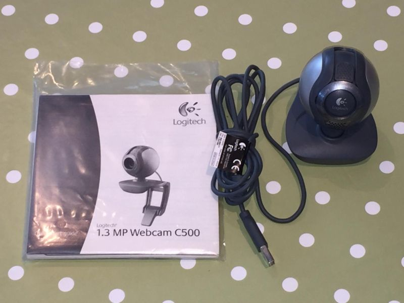 Logitech-webcam-C500