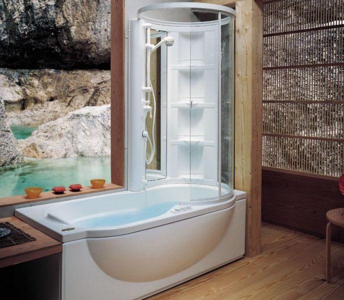 душевая кабина-ванна фото