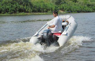Лодка для спалава