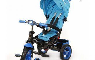 Велосипед с подставками для ног