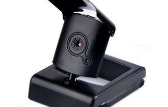 Веб-камера с закрывающимся объективом