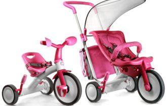 8 видов детских трехколесных велосипедов