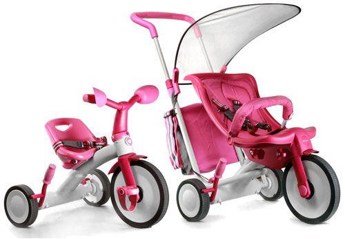 Самые безопасные детские трехколесные велосипеды