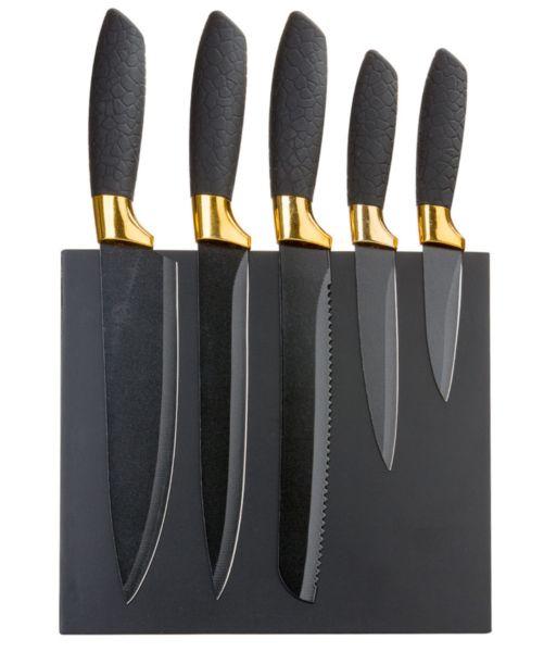наборы ножей сталь неприлипающее покрытие
